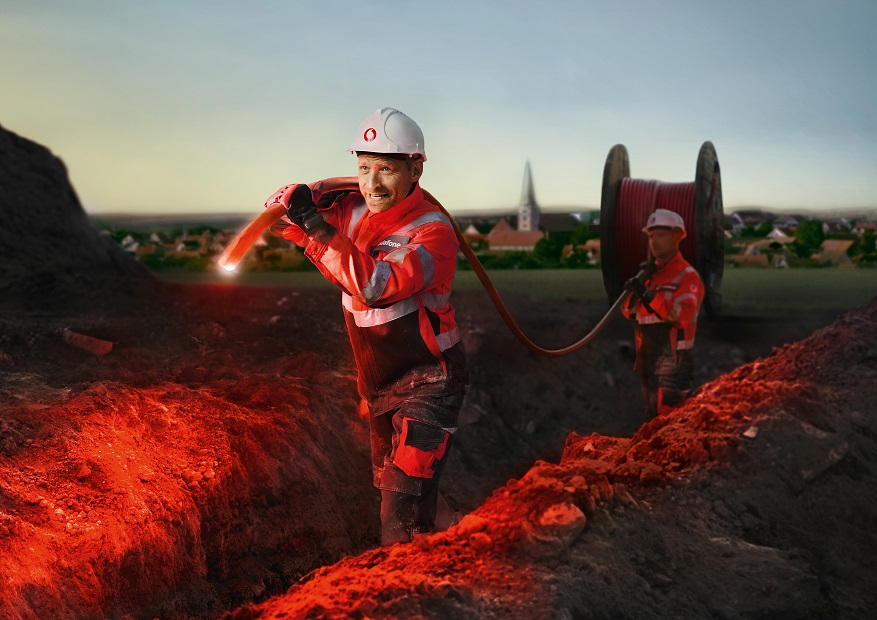Primevest Capital Partners and Vodafone to roll out €20 million fiber optic network for 6,000 householders and companies in Hadamar, Germany